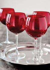 Set pahar vin rosu